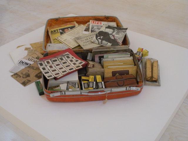 """Dan Concholar, """"Suitcase"""""""
