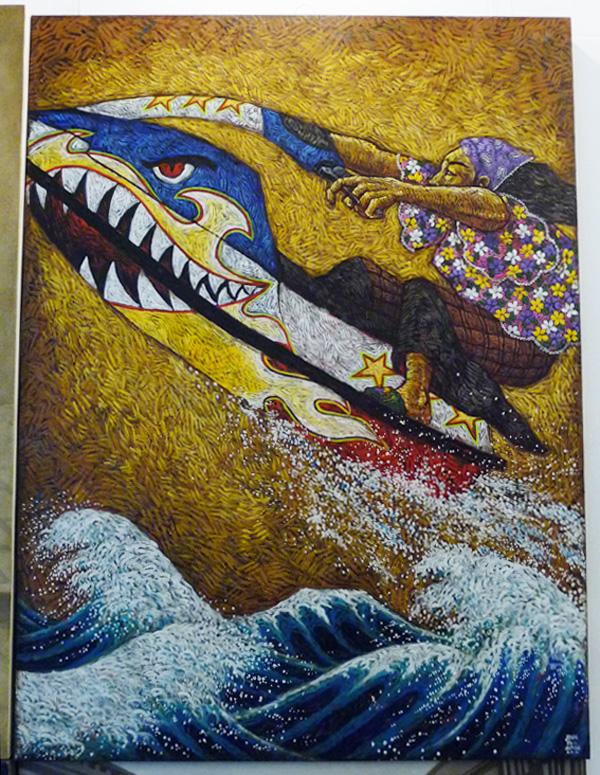 """John Paul Antido, """"Flying Fish"""""""