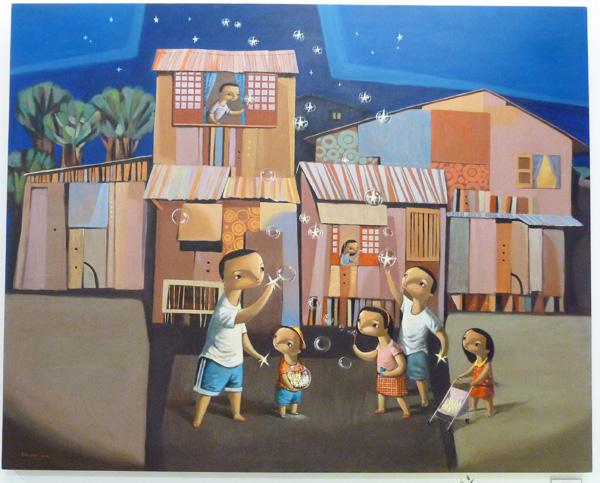 """Robert Deniega, """"Birth of the Stars"""""""
