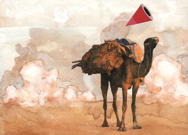 """Jaelah Kuehmichel, """"Across the Desert"""""""