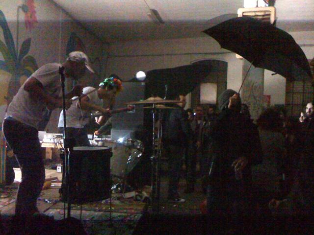 Nico Vascellari's project, Niños du Brasil performing at BUNKER