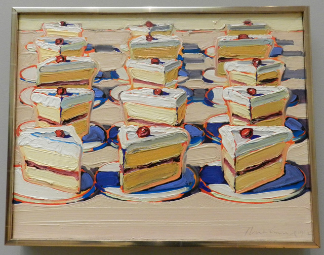 Education For Cake Artist : Wayne Thiebaud and the Limits of Gluttony