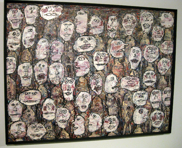 """Jean Dubuffet, """"Affluence (Attendance)"""" (1961) (All photos by ...: hyperallergic.com/59820/jean-dubuffets-lasting-legacy"""