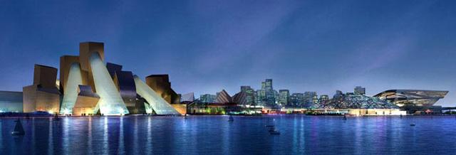 The Guggenheim Abu Dhabi (Image courtesy the Guggenheim)