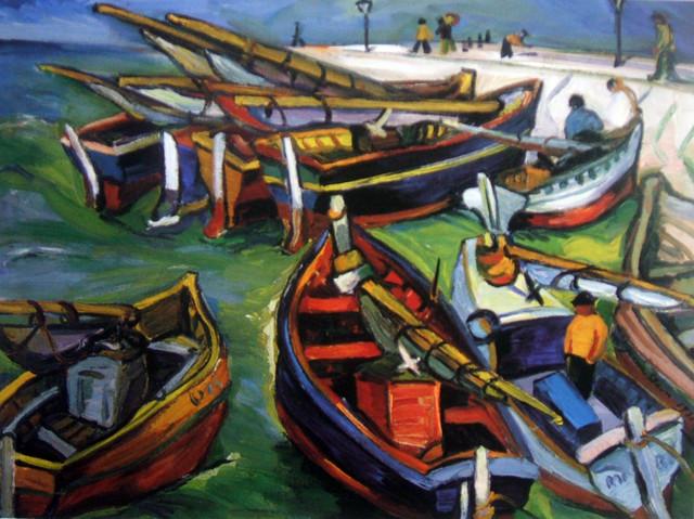 "Irma Stern Museum Irma Stern ""fishing Boats"""