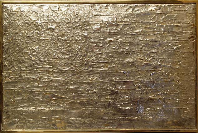"""""""1989 Bronze Flag,"""" aka NOT a Jasper Johns sculpture"""