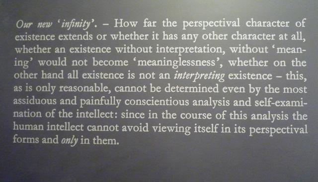 "Joseph Kosuth, ""Error of Philosophers #8"" (1991) at Rumma"