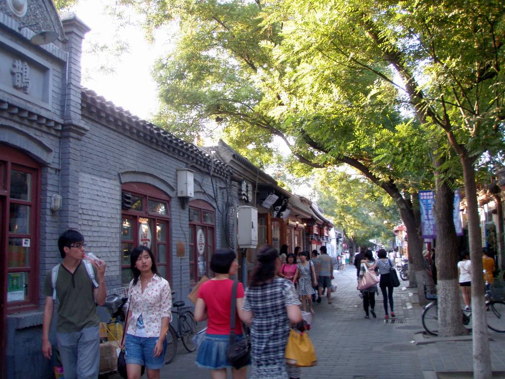 Nanluoguxiang hutong (Image courtesy hutong-inn.com)