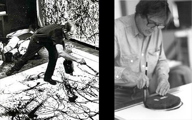 Jackson Pollock and John Cage