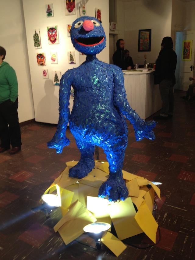 "Paul Perkins, ""My Blue Monster"" (2012)"