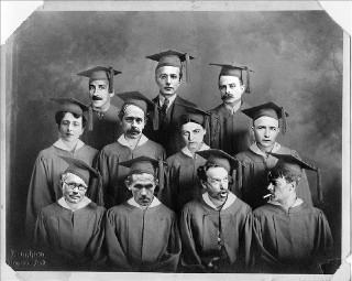 Some of the allstars of the Public Domain Class of 2013 (image via Public Domain Review) (click to enlarge)