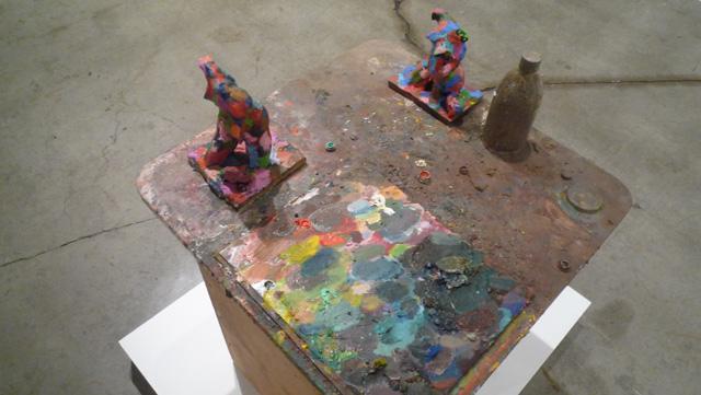 "Richard Hawkins, ""Two Polychromed Hermaphrodites"" (2012) at Galerie Buchholz"