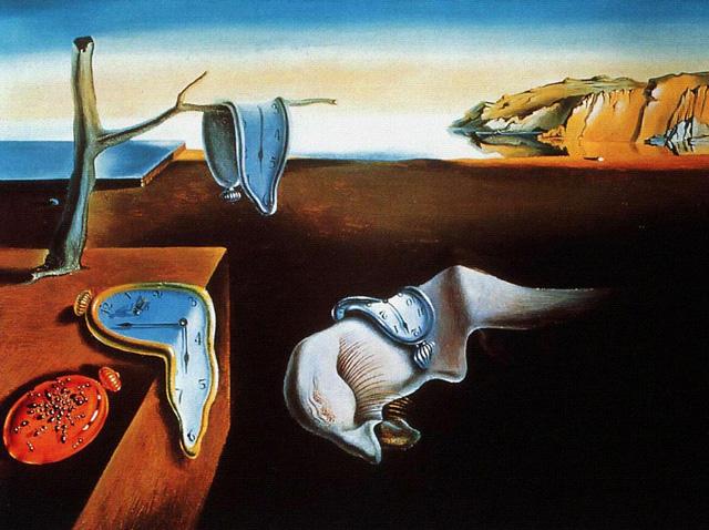 Salvador Dali Melting Clocks Life Imitating ...
