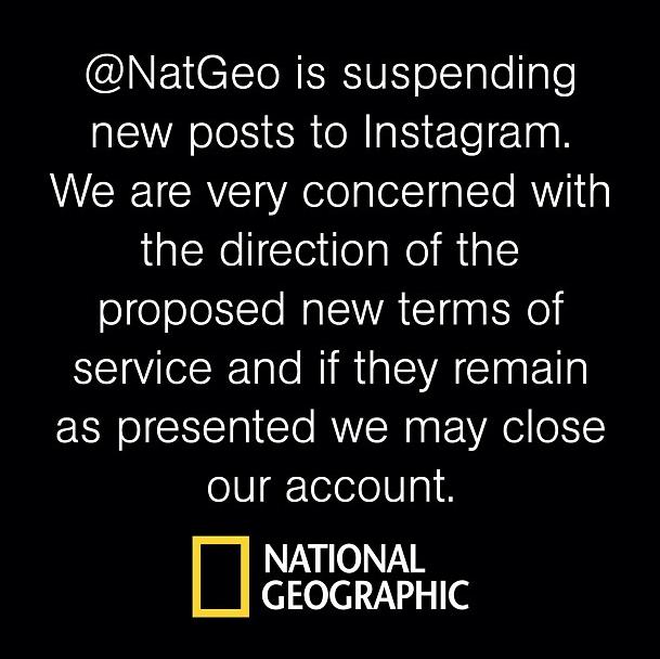 NatGeo's Instagram signoff