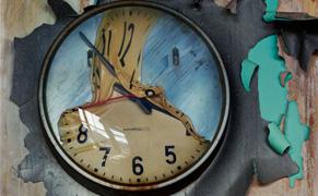 Post image for Life Imitating Art: Melting Clocks