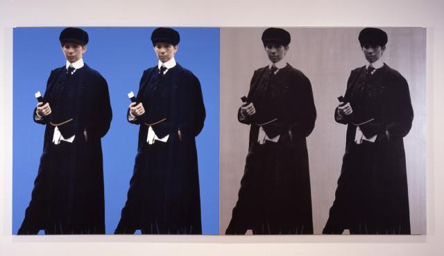 Deborah Kass, Double Double Yentl (My Elvis), 1992