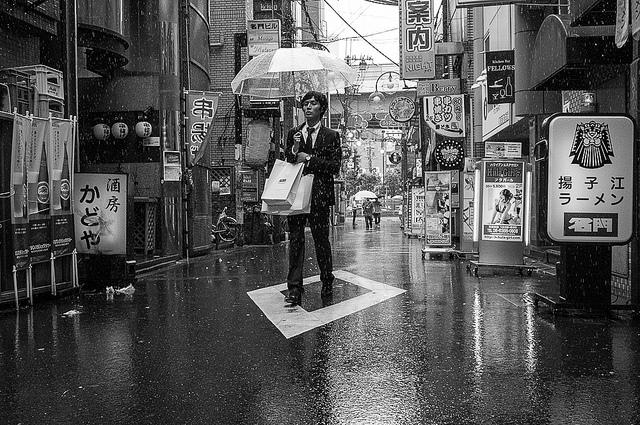"streetwrk, ""singin in the rain"" (2012) (via flickr.com/streetwrk)"