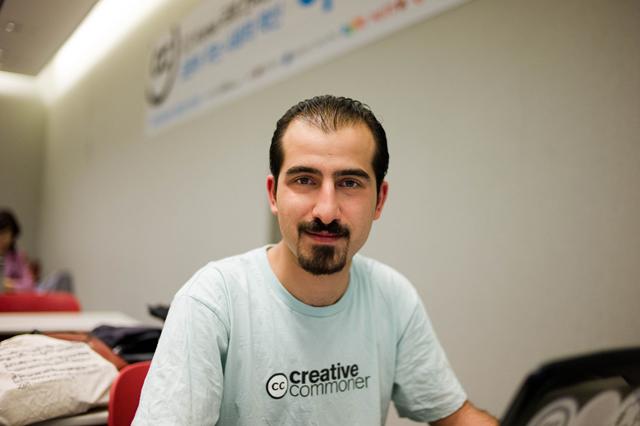 Bassel Khartabil (Image via freebassel.org)
