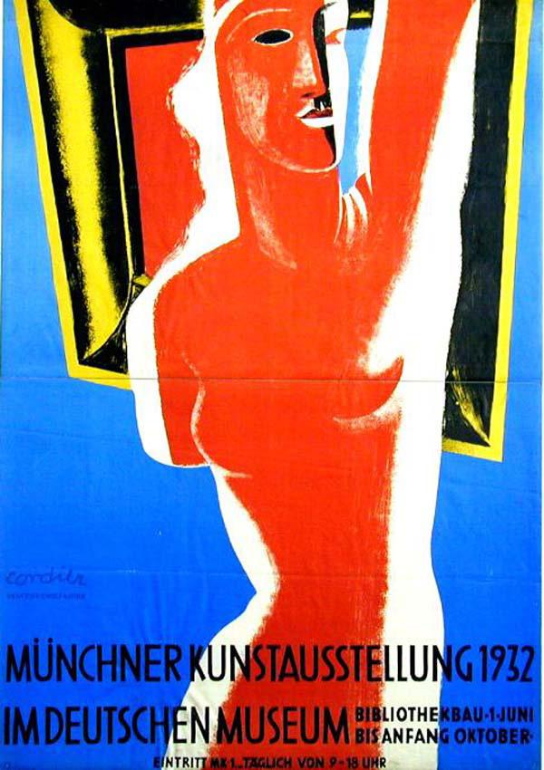 Eugène Max Cordier, Münchner Kunstausstellung 1932