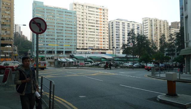A view of the Fo Tan neighborhood