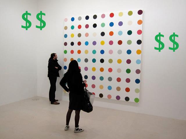 Hirst-Spots-money