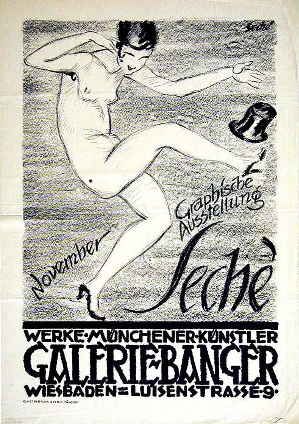 """Josef Seché, """"Galerie Banger"""""""