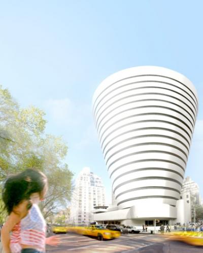 Oiio's Guggenheim expansion (Image via Oiio)