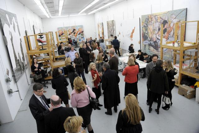 Jeff Koons's studio (Image via gotryke.com)