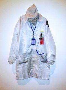 Li Liao's Foxconn uniform (Image courtesy newyorker.com)