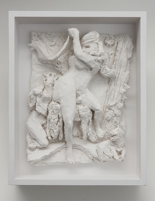 """Kyle Staver, """"Diana Ceramic Relief,"""" (2012), 9"""" x 12"""""""