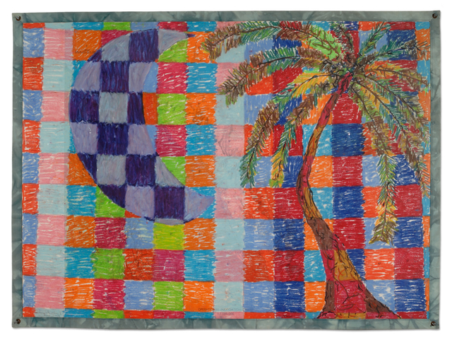 "Rafael Ferrer, ""La Luna y La Palma,"" (1979)"