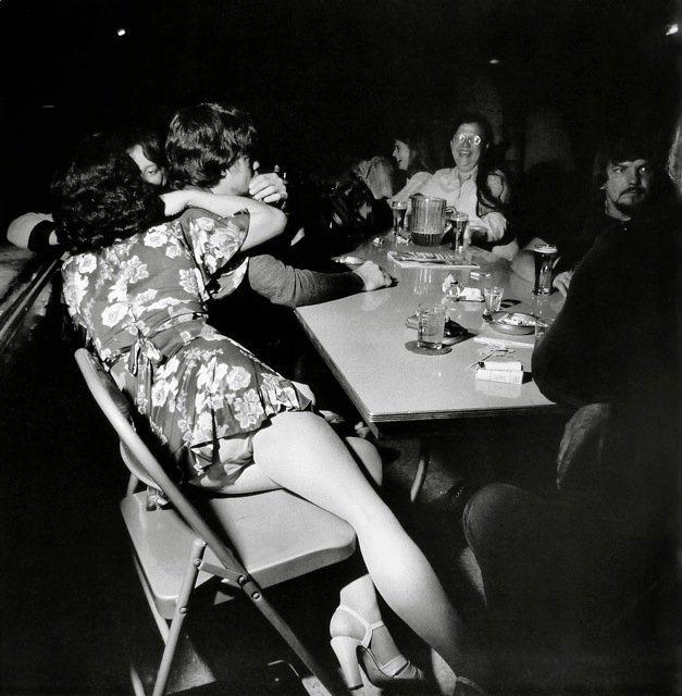 "Larry Fink, ""American Legion Dance, Bangor, Pennsylvania, 1978"" (image via reallifeiselsewhere.blogspot.com)"