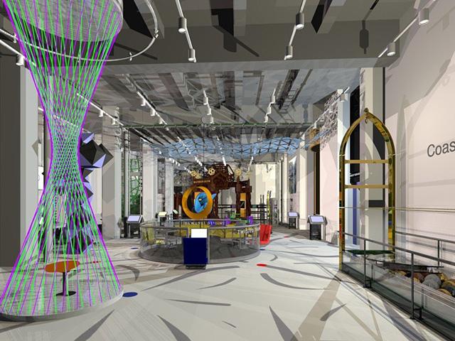 Installation view, the Museum of Mathematics
