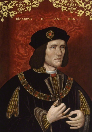 """Unknown artist, """"King Richard III"""" (late 16th century). Oil on panel, 25 1/8 in. x 18 1/2 inches. National Portrait Gallery, London. Given by James Thomson Gibson-Craig, 1862. (Image via National Portrait Gallery"""", London)"""
