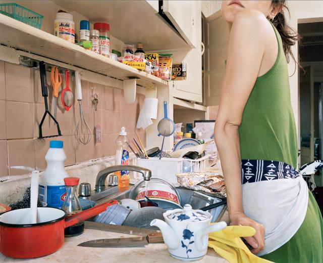 "Satomi Shirai, ""Another Cindy"" (2006), color print, 36 x 44 in."