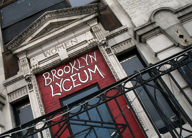 Brooklyn Lyceum (photograph by David Boyle/Flickr user)