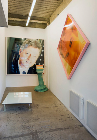 """Installation view: Christopher K. Ho, """"Privileged White People"""" at Forever & Today, Inc. (click to enlarge) (courtesy the artist and Forever & Today, Inc; photo by Mike Garten)"""
