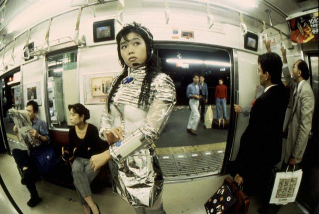 """Subway"" 1994  Fuji Super Gloss print, wood, aluminium frame / Fuji Super Gloss print, bois, cadre en aluminium  27 1/4 x 40 1/4 x 2 inches / 69 x 102 x 5,1 cm"