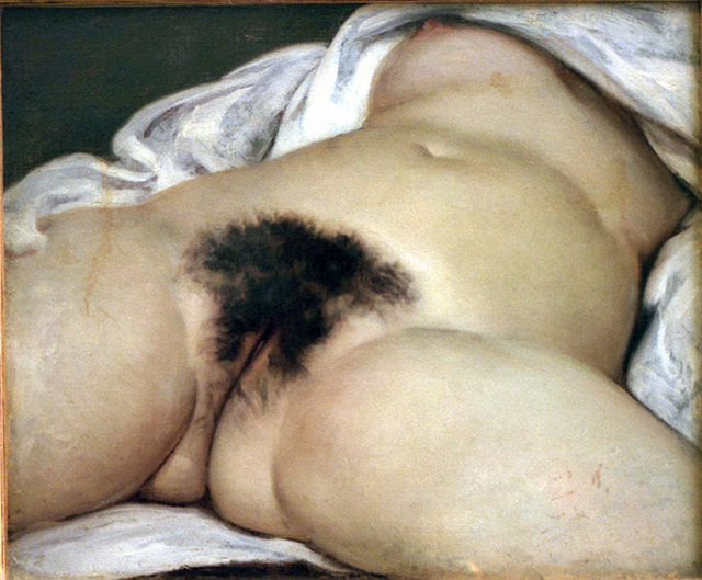 """Gustave Courbet, """"The Origin of the World"""" (1886) (Image via wikipedia.org)"""