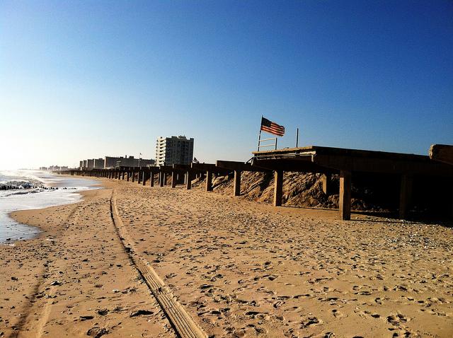 The Rockaways Post-Sandy  (photograph by Roman Iakoubtchik/Flickr user)