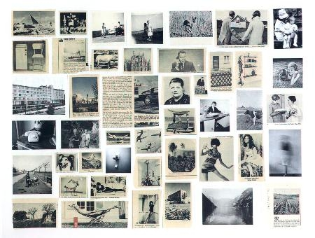 """Gerhard Richter, """"Atlas Sheet 5"""" (1962) (via gerhard-richter.com)"""