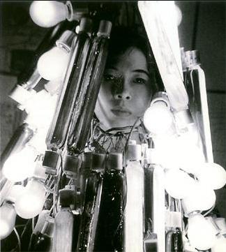 "Tanaka Atsuko, ""Electric Dress"" (1956) (via Medienkunstnetz.de)"