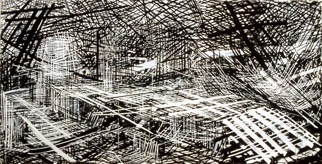 "Denyse Thomasos, ""Displaced Burial"" (1993) (Image courtesy Olga Korper gallery)"