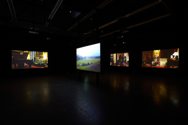 "Ragnar Kjartansson, ""The Visitors,"" installation view (all images courtesy the artist and Luhring Augustine, New York)"
