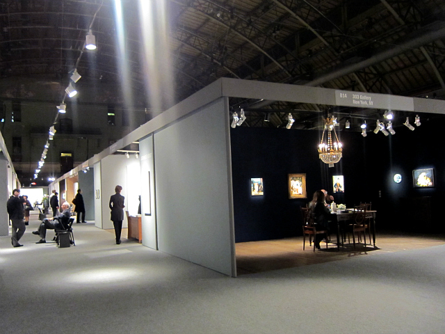 The ADAA Art Show in the Park Avenue Armory (photo by Allison Meier/Hyperallergic)