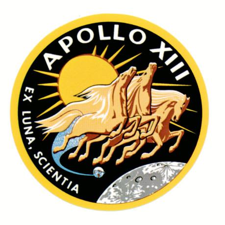 Apollo 13 Patch designed by Lumen Martin Winter (via NASA)