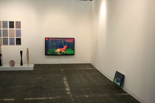 Jacco Olivier at Marianne Boesky's booth