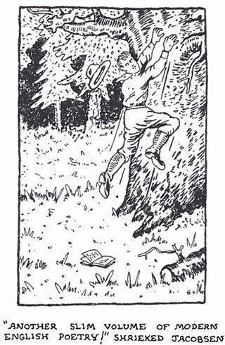 Comic by Glen Baxter (image via literodditi.wordpress.com)