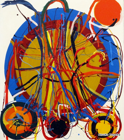 "Atsuko Tanaka, ""Work"" (1965) (Image courtesy Art-U room)"