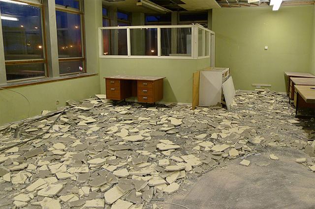 Meter Room under renovation in 2011 (Image via meterroom.org)